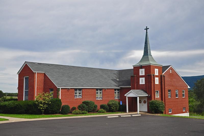 Round Hill Church of the Brethren - Shenandoah County, VA - 2011