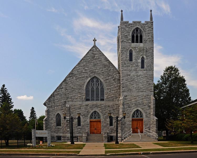 St. Andrew's Catholic Church - Norwood, NY - 2012