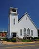 Holy Trinity Byzantine Catholic Church (left) and Bethel Baptist Church (right) - Sykesville, PA - 2013