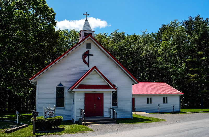 Manor United Methodist Church - Shippenville, PA - 2019