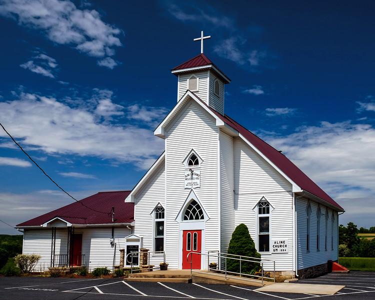 Aline United Methodist Church - Snyder County, PA -