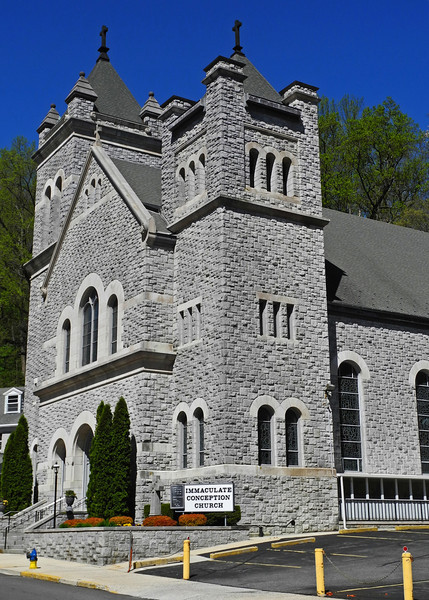 Immaculate Conception Church - JIm Thorpe, PA - 2013
