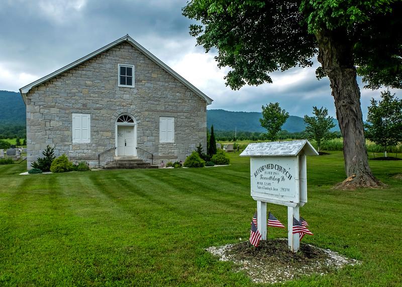 Reformed Church - Fannettsburg, PA - 2015