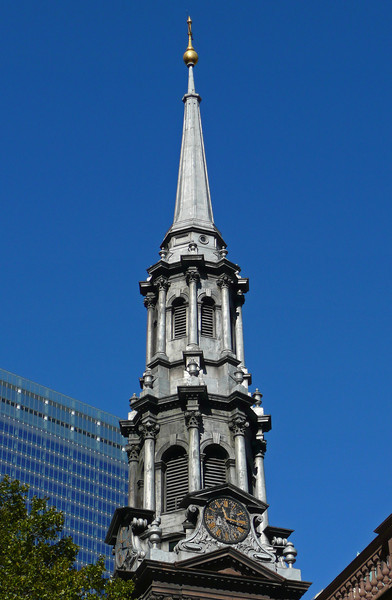 St. Paul's Chapel - Broadway - Lower Manhattan - 2008