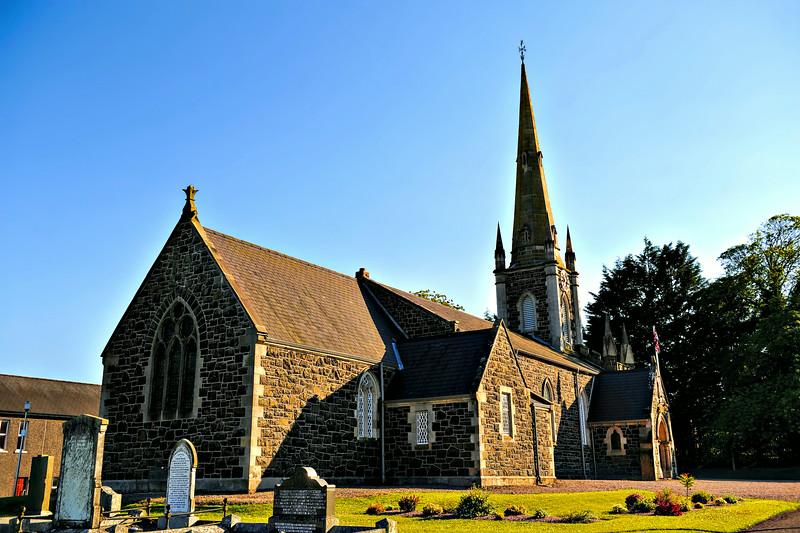 Drummaul Parish Church (St Brigid's)<br /> Church of Ireland<br /> Randalstown<br /> County Antrim<br /> 1st July 2014
