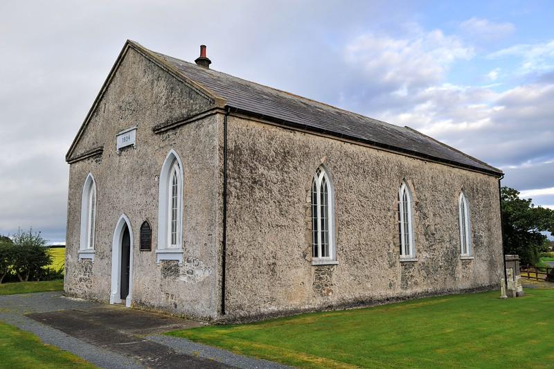 Ballyhemlin Non-Subscribing Presbyterian Church (built 1834),<br /> Roddens Road, near Kircubbin,<br /> County Down.<br /> Friday, 4th September 2015