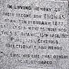 Thomas Andrews of Titanic fame. Non-Subscribing Presbyterian Church, Comber, County Down