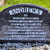 Non-Subscribing Presbyterian Church, Comber, County Down. Andrews grave