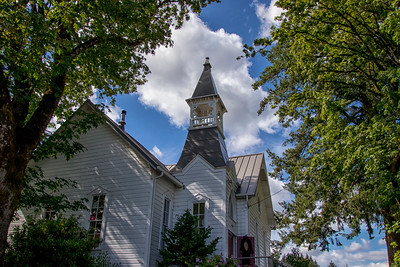 McCabe Chapel ca. 1886 Side View Spring 6-9-18