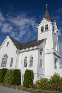 Fir Conway Lutheran Church Portrait Blue Sky 9-12-18