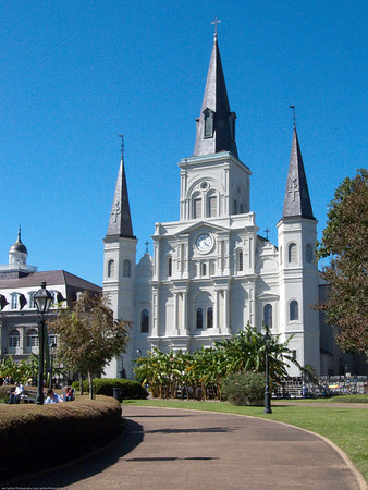 New Orleans, Cathedral-basilica of St Louis, King of France. (3 of 3)