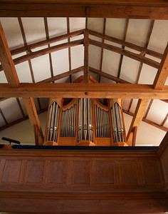 Pipe organ built in London, England and installed in 2005