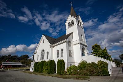 Fir Conway Lutheran Church Barn Background 9-12-18