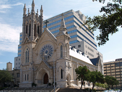 St Mary's Cathedral, Austin, Tx