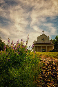 Old Cataldo Mission Church Idaho