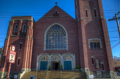First Metropolitan United Church - Victoria, Vancouver Island, BC, Canada