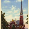 Postcard of First Baptist Church 1886 (02453)