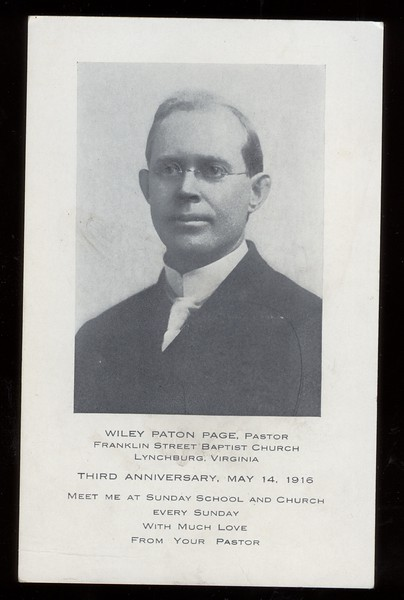 Wiley Paton Page  (O 2019.62.2)