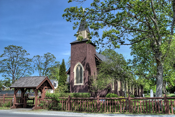 Holy Trinity Church - Vancouver Island BC Canada