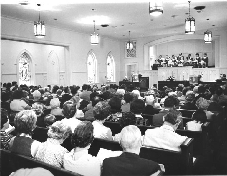 NUMC Congregation, October 1972