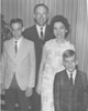 Rev. A. Ray Adams Family, June 1967