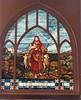 Nashville Methodist Church stained glass window<br /> (photo by Jamie Connell)