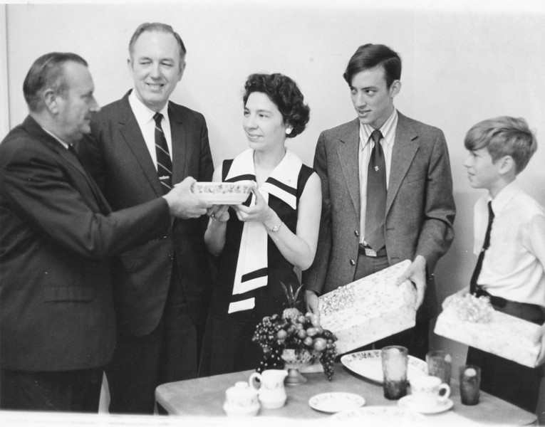 NUMC Adams Family Farewell, June 1971