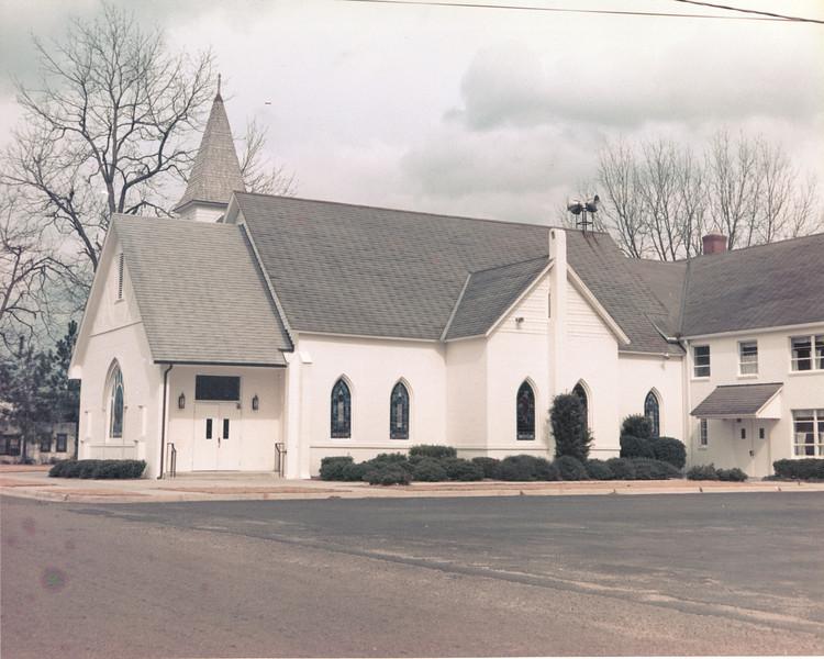 Nashville Methodist Church<br /> (photo by Jamie Connell)