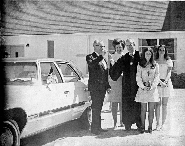 Dupree Family Keys to Car, 1974