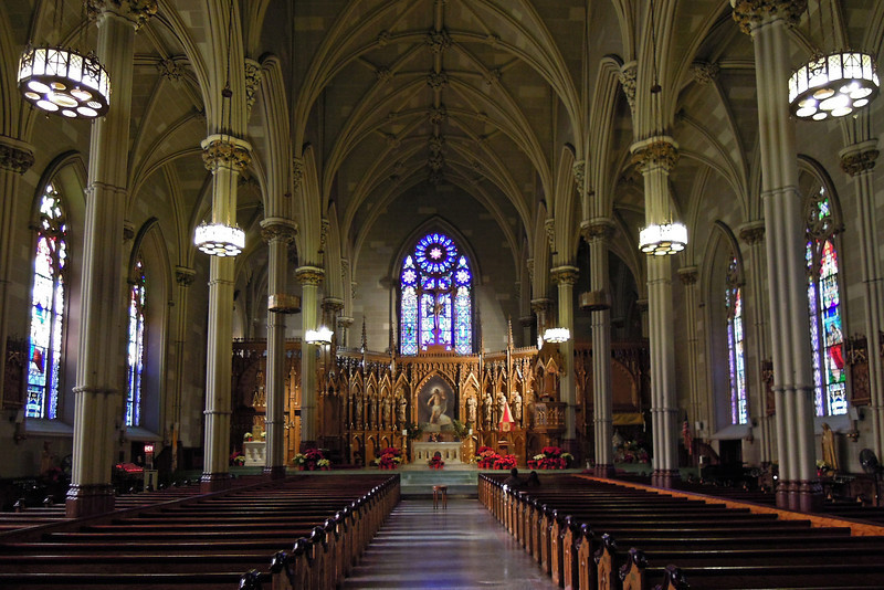 The Basilica of St. Patrick's Old Cathedral - NYC - 2011