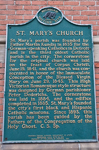 Old Saint Mary's Detrot MI