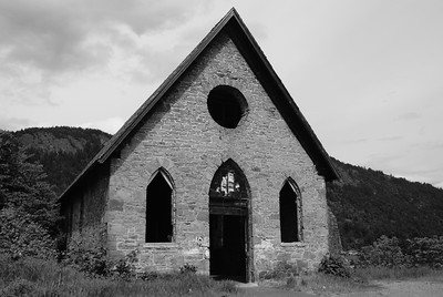 """Old Stone Butter Church"" - Cowichan Valley, BC, Canada"