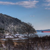 """View From Comiaken Hill at Old Stone Butter Church – Cowichan Valley, BC, Canada Visit our blog """"<a href=""""http://toadhollowphoto.com/2014/12/01/footprints-snow-stone-butter-church/"""">Footprints In The Snow</a>"""" for the story behind the photo."""