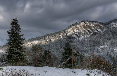 """Vista From Comiaken Hill at Old Stone Butter Church – Cowichan Valley, BC, Canada Visit our blog """"Footprints In The Snow"""" for the story behind the photo."""