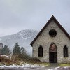 """Old Stone Butter Church – Cowichan Valley, BC, Canada Visit our blog """"<a href=""""http://toadhollowphoto.com/2014/01/07/snow-old-stone-butter-church/"""">The Church That Never Was And Always Will Be</a>"""" for the story behind the photo."""