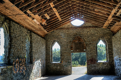 """Old Stone Butter Church - Cowichan Valley, BC, Canada Visit our blog """"The Ghostly Hallows"""" for the story behind the photos."""