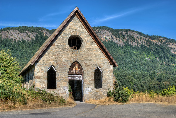 Old Stone Butter Church - Cowichan Valley, BC, Canada