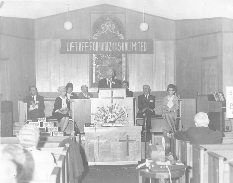 State Prayer Band Convention at Nashville Church of the Nazarene, November 1969