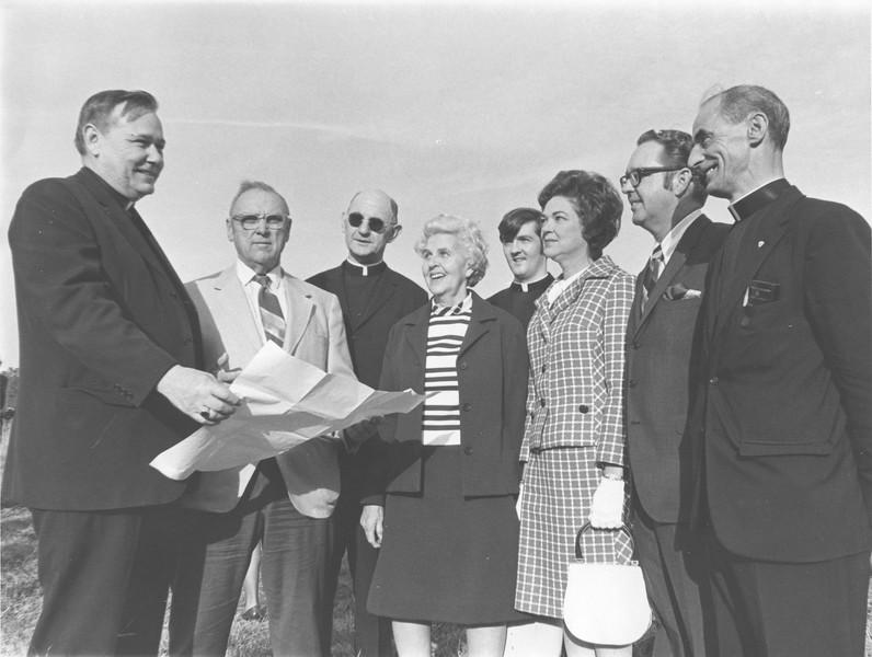 Planning Nashville's Catholic Church, April 1971