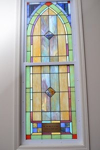 One of the many beautiful windows.