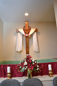 Baptismal area.