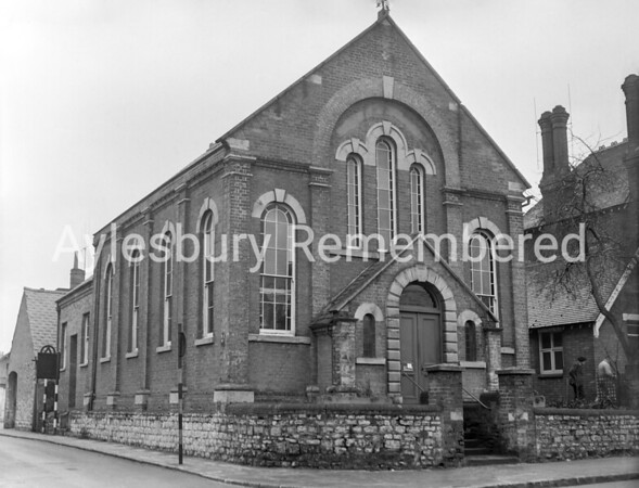 Primitive Methodist Chapel, Buckingham Road, Jan 1957