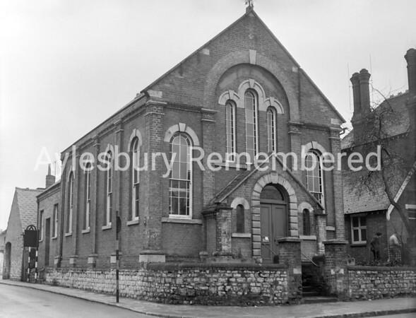 Primitive Methodist Chapel, Buckingham Road, Jan 1957