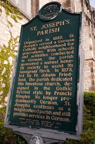 Saint Joseph Church Detroit MI