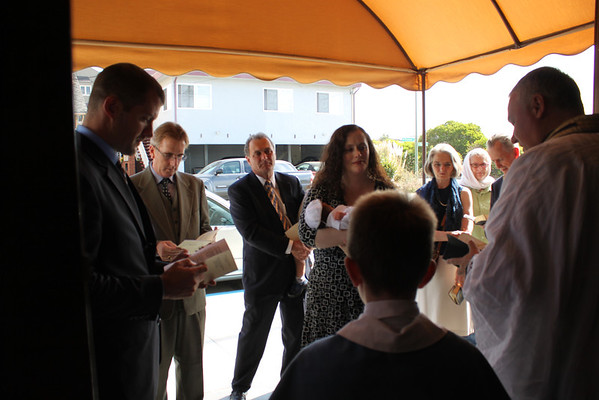 Dominic Angelo's Baptism (October 6, 2013)
