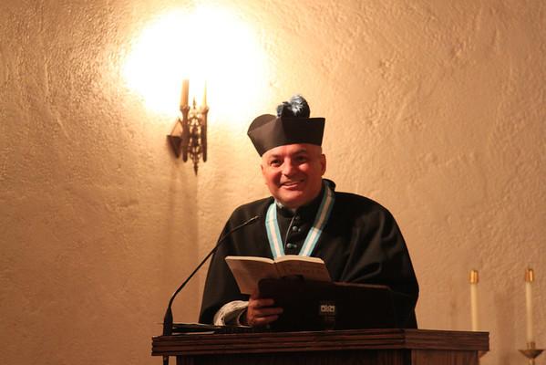 Theology Class & Canon Meney's Birthday (Sept. 17, 2013)