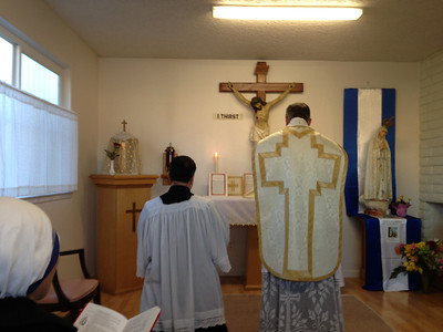 Low Mass at the Sisters of Charity