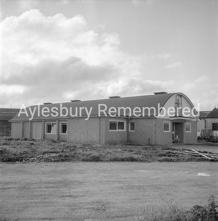 St Claire's Church, Elmhurst Road, Oct 1966