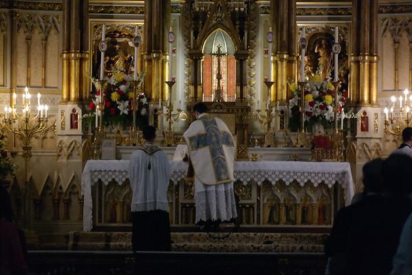 Canon Francis Altiere's 1st Mass