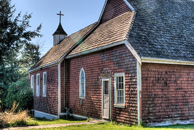 """Saint John the Baptist Church - Comox, BC, Canada Visit our blog """"Resurrecting Our Heritage"""" for the story behind the photos."""